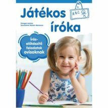 JÁTÉKOS ÍRÓKA - ÍRÁSELŐKÉSZÍTŐ FELADATOK OVISOKNAK