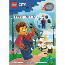 LEGO CITY - SEGÍTHETEK? - HARL HUBBS MINIFIGURÁVAL