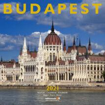 BUDAPEST NAPTÁR 2021 (29X29CM)