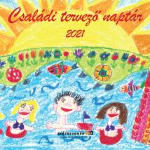 CSALÁDI TERVEZŐ NAPTÁR 2021 (29X29CM)