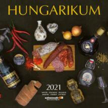 HUNGARIKUM NAPTÁR 2021 (29X29CM)