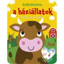 KEDVENCEIM, A HÁZIÁLLATOK - MATRICÁS KIFESTŐ