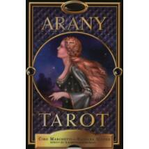 ARANY TAROT - KÖNYV ÉS 78 KÁRTYA (KICSI)