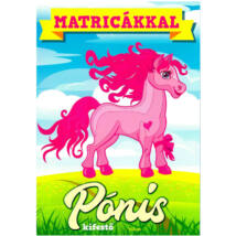 MATRICÁKKAL - PÓNIS (KÉK) KIFESTŐ