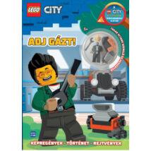 LEGO CITY - ADJ GÁZT! - AJÁNDÉK MINIFIGURÁVAL