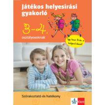 JÁTÉKOS HELYESÍRÁSI GYAKORLÓ 3. ÉS 4. OSZTÁLYOSOKNAK