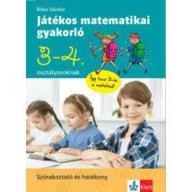 JÁTÉKOS MATEMATIKAI GYAKORLÓ 3. ÉS 4. OSZTÁLYOSOKNAK