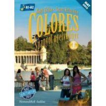 COLORES - SPANYOL NYELVKÖNYV 1. + CD NT-56496/NAT