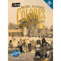 COLORES - SPANYOL MUNKAFÜZET 1. +CD NT-56496/M/NAT