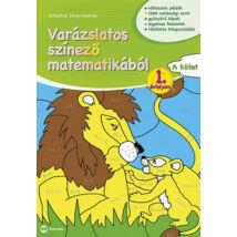 VARÁZSLATOS SZÍNEZŐ MATEMATIKÁBÓL 1.ÉVFOLYAN A KÖTET
