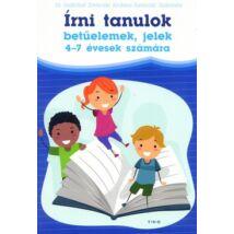 ÍRNI TANULOK - BETŰELEMEK, JELEK 4-7 ÉVESEKNEK
