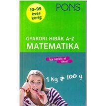 PONS GYAKORI HIBÁK - A-Z MATEMATIKA