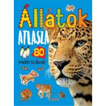 ÁLLATOK ATLASZA 80 MATRICÁVAL