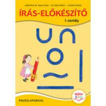 ÍRÁS-ELŐKÉSZÍTŐ 1. OSZTÁLY - PAUSZLAPOKKAL