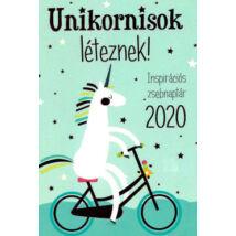 2020 UNIKORNISOK LÉTEZNEK! - INSPIRÁCIÓS ZSBENAPTÁR
