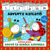 ADVENTI KIFESTŐ - BOGYÓ ÉS BABÓCA AJÁNDÉKA