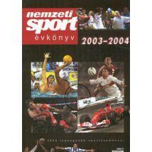 NEMZETI SPORT ÉVKÖNYV 2003-2004