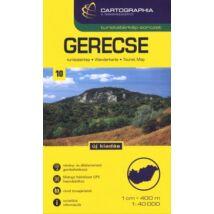GERECSE TURISTATÉRKÉP SC (1:40 000)