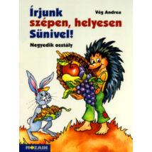 ÍRJUNK SZÉPEN, HELYESEN SÜNIVEL! 4. OSZTÁLY