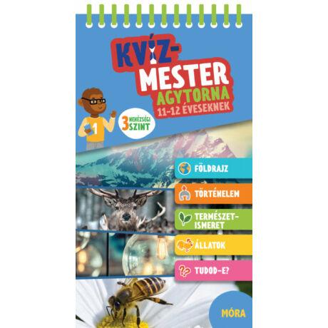 KVÍZMESTER - AGYTORNA 11-12 ÉVESEKNEK