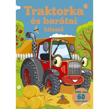 TRAKTORKA ÉS BARÁTAI KIFESTŐ - TÖBB MINT 60 MATRICA