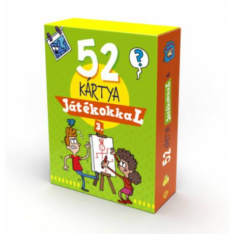 52 KÁRTYA JÁTÉKOKKAL 3.