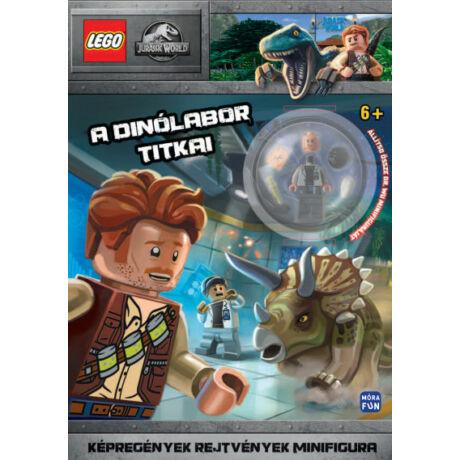 LEGO JURASSIC WORLD - A DÍNÓLABOR TITKAI - AJÁNDÉK DR. WU MINIFIGURÁVAL