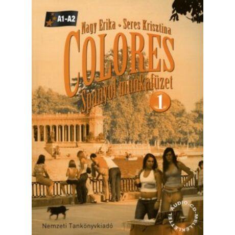 COLORES - SPANYOL MUNKAFÜZET 1. A1-A2
