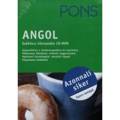 PONS - ANGOL SZÓKINCS KÖNNYEDÉN CD