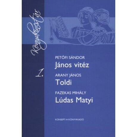 JÁNOS VITÉZ - TOLDI - LÚDAS MATYI