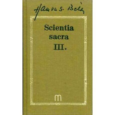 SCIENTIA SACRA III.
