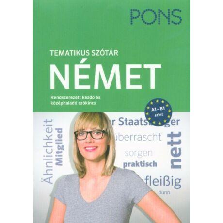 PONS - TEMATIKUS SZÓTÁR - NÉMET