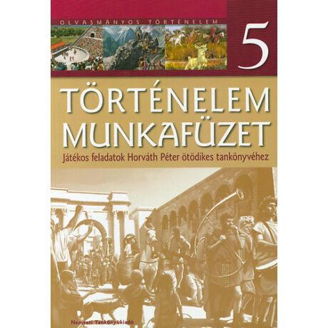 TÖRTÉNELEM MUNKAFÜZET 5. NT-11575/T