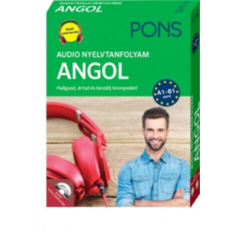 PONS - AUDIO NYELVTANFOLYAM ANGOL