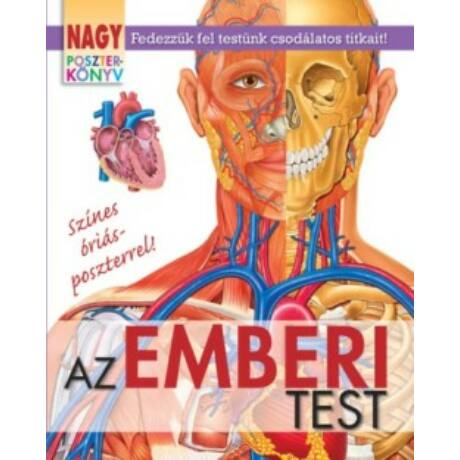 AZ EMBERI TEST - NAGY POSZTERKÖNYV