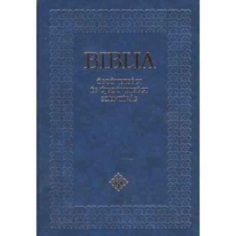 BIBLIA (ÓSZÖVETSÉGI ÉS ÚJSZÖVETSÉGI SZENTÍRÁS) BORDÓ,FEKETE, FEHÉR