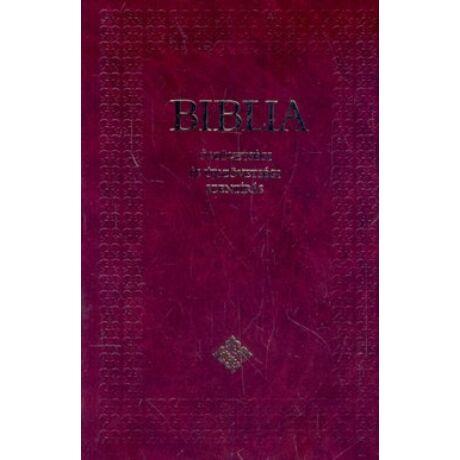 BIBLIA (KÖZEPES,BORDÓ,FEKETE,KEMÉNY,ÓSZÖVETSÉGI ÉS ÚJSZÖVETSÉGI SZENTÍRÁS)